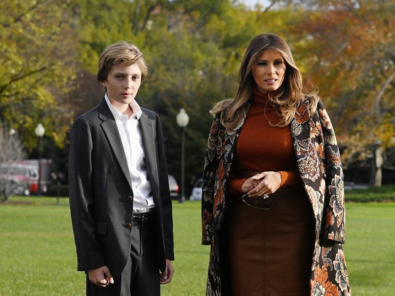 Melania Trump služi sto tisoče dolarjev letno tudi s prodajo družinskih fotografij