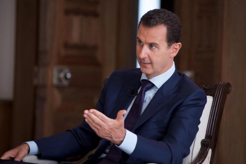 Asad: V Siriji poteka svetovna vojna posebne vrste