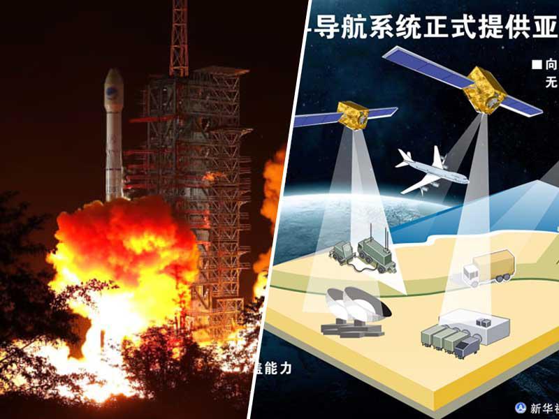 Kitajska prehitela EU in je odslej neodvisna od ZDA: Na poti v orbito je zadnji v sistemu BeiDou GPS satelitov