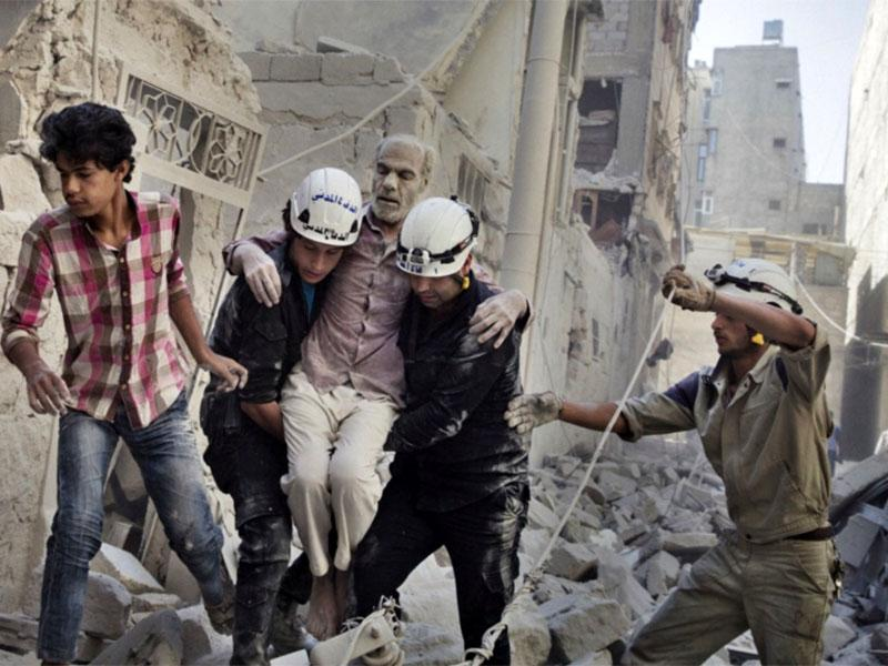 Zahodniki zavezniki nameravajo evakuirati Bele čelade iz Sirije