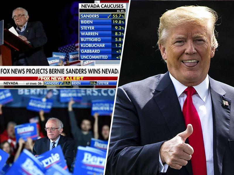 Socialist Bernie Sanders zmagal v Nevadi, bo premagal tudi Bloomberga in se soočil s Trumpom?