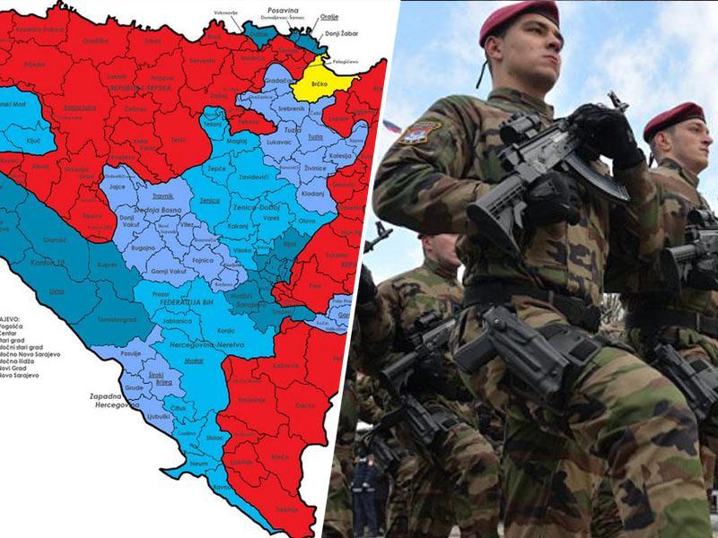 V Republiki srbski je z žandarmerijo zadišalo po vojski