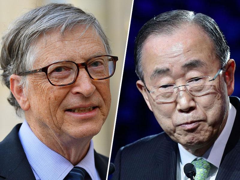 Na čelu nove komisije za podnebno prilagajanje Ban Ki-moon in Bill Gates