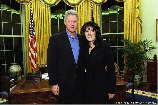 Bomba, tik pred predsedniškimi volitvami: snema se serija o aferi Clintona in Monice