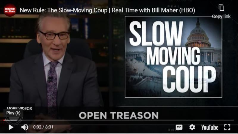Strašljiva napoved komika: Trumpov »počasi premikajoč se puč« gre proti cilju, uspešni kraji volitev 2024!