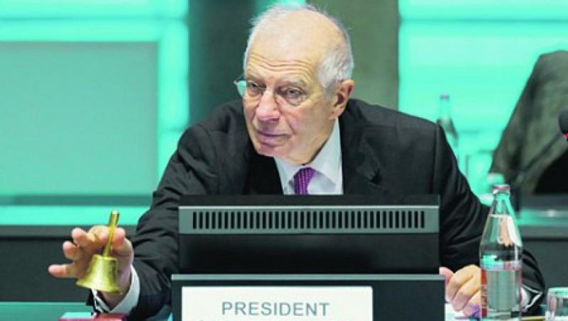 Borrell: Rusije ne moremo izključiti iz sistema Swift, pripraviti se moramo na težke trenutke v odnosih z Moskvo