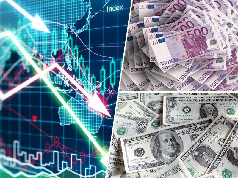 Leto 2018 za borze in delnice najslabše od globalne gospodarske krize
