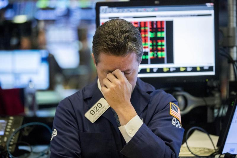 Strah, nezaupanje in ameriške carinske vojne ta teden potopili newyorške borzne indekse