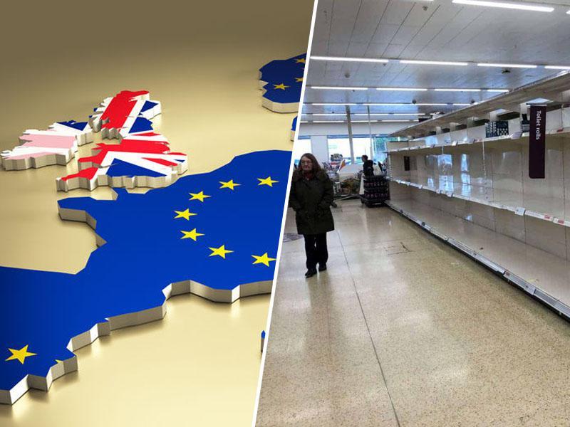 »To je posledica brexita, ne pa pandemije!« Prodajalka razkrila, zakaj so police britanskih trgovin vse bolj prazne
