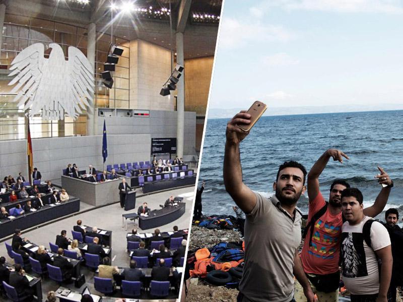 Nemška skrajnodesničarska AfD vložila prvi zakon ... proti beguncem