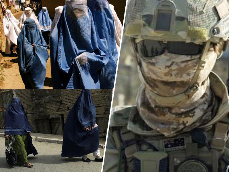 Koristne burke: Zakaj so se pripadniki britanskih specialnih sil mimo talibanov prebili – preoblečeni v ženske