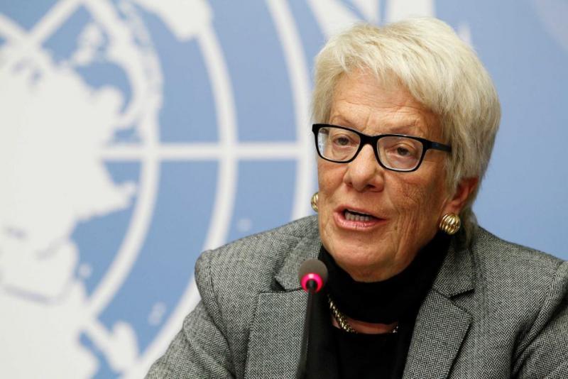Carla Del Ponte po dolgoletni karieri v OZN razočarana nad OZN