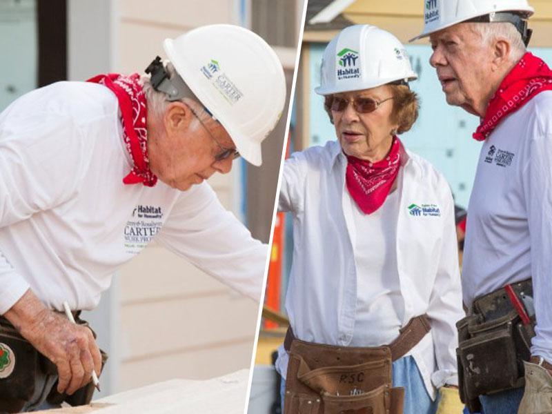 Fant od fare: to je predsednik, ki pri 94 letih drugim gradi hiše – pa ne zaradi volitev