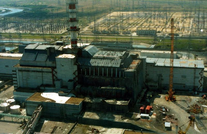 Ukrajina ob obletnici nesreče Černobil označila za odprto rano