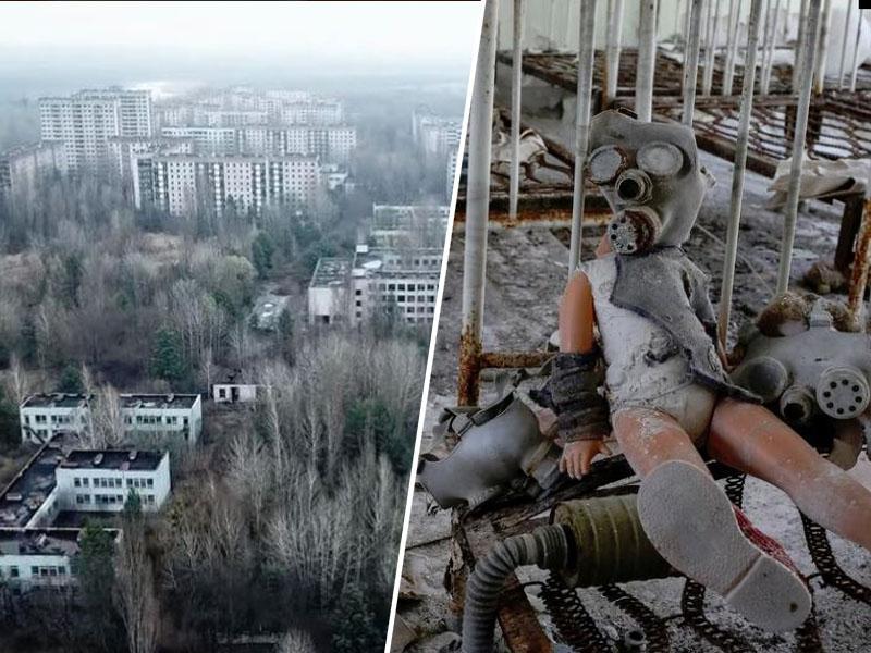Osupljivo: dolga leta čakal na dovoljenje, da posname Černobil z dronom. Posnetki vas bodo pustili brez besed