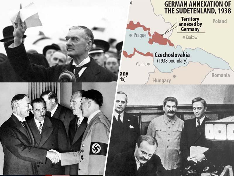 Popuščanje spomina: Najprej je zahod izdal SZ in paktiral s Hitlerjem, šele nato je bil podpisan pakt Ribbentrop-Molotov
