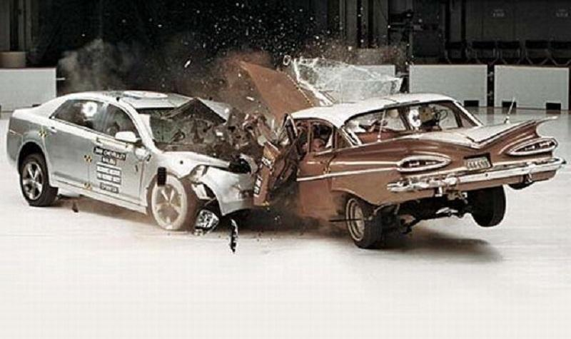 Crash Test: varnostni preizkus avtomobilov