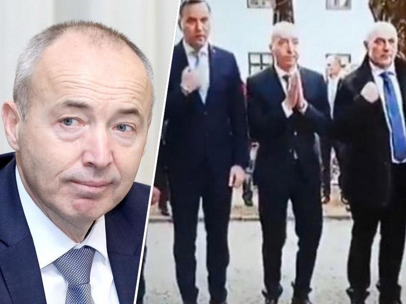 Hit na Twitterju: Hrvaški obrambni minister se je prekrižal, nato pa je kamera ujela bizarno gesto …