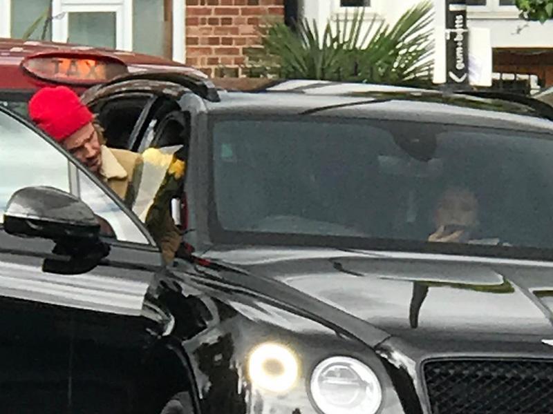 David Beckham po Londonu divjal z Bentleyjem