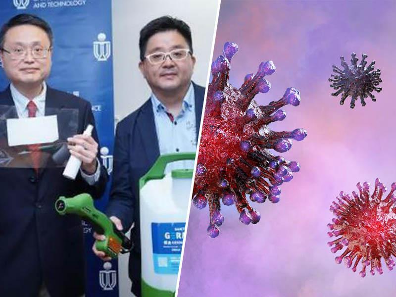 MAP-1: Izdelali novo dezinfekcijsko sredstvo, ki 90 dni učinkovito ščiti tudi pred koronavirusom SARS-CoV-2