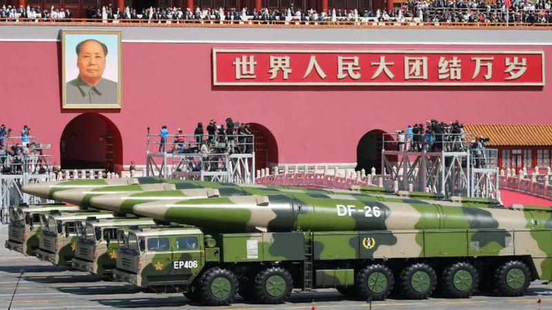 Odgovor Pekinga ZDA: »Kitajska mora biti pripravljena prva uporabiti jedrsko orožje!«