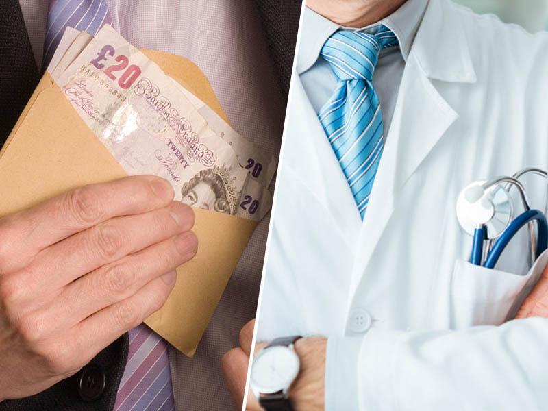 Kako so zdravniki, sestre in delavci oškodovali britanski zdravstveni sistem za milijone evrov