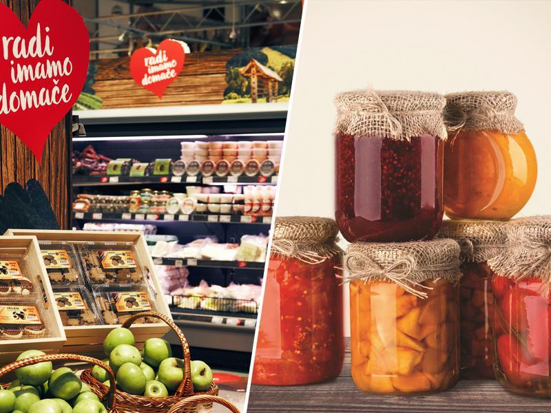 Kakovost lokalnih Mercatorjevih izdelkov vse višja: Povečuje se tržni delež prehrambnih izdelkov iz domačih krajev