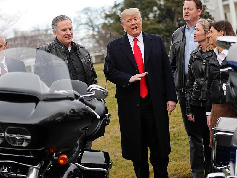 Zakaj ima Harley Davidson težave?