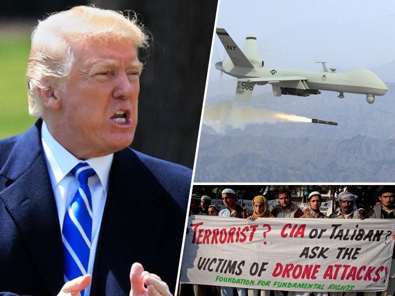 Donald Trump vojski ukazal prenehanje poročanja o civilnih žrtvah napadov z brezpilotnimi letali
