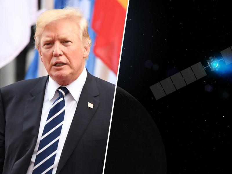 Trump ustanovil novo vejo oboroženih sil ZDA - vesoljske sile