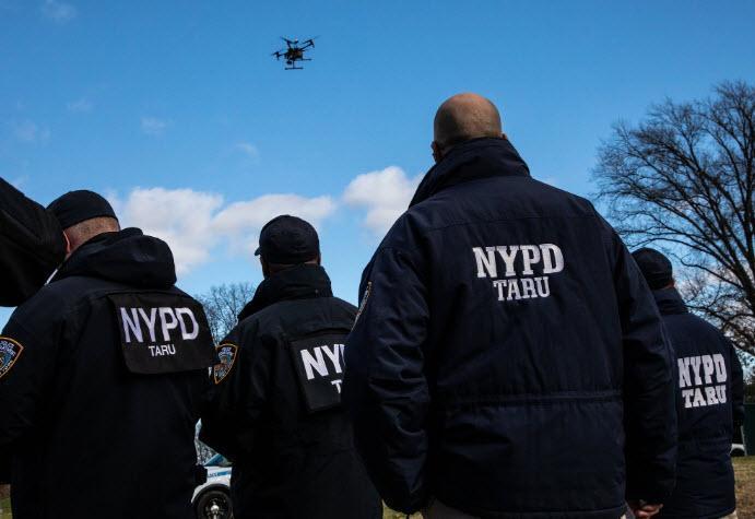 Veliki brat: za varnost in red v New Yorku bo skrbela flota