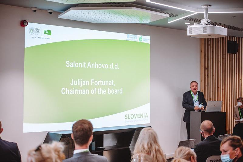 Salonit Anhovo na Svetovni razstavi EXPO o zeleni preobrazbi