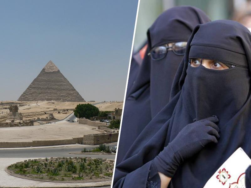 Zdaj še Egipt razmišlja o prepovedi nošnje burke v javnosti