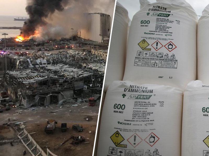 Kakor jedrska bomba: 2750 ton amonijevega nitrata eksplodiralo kot 1,1 kilotone vojaškega TNT-ja
