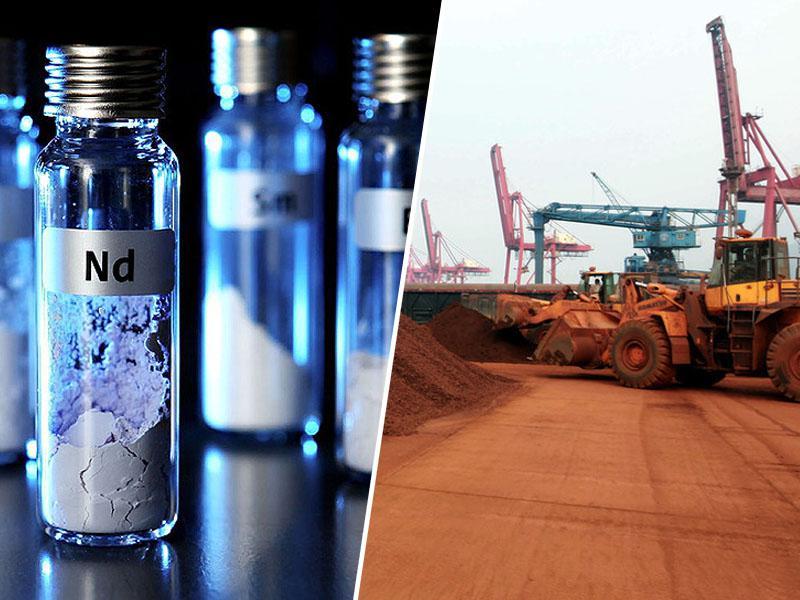 Kitajska pripravlja »jedrski« odgovor na ameriške carine: prepoved izvoza redkih kovin in zemljin