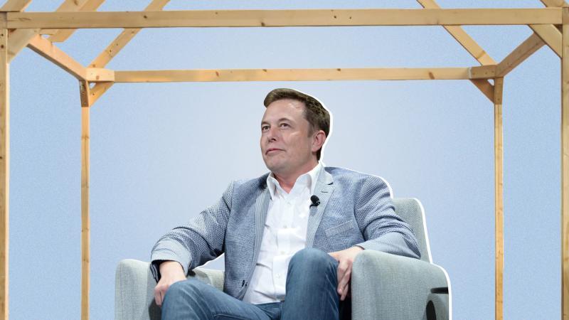 Elon Musk je na sledi revolucionarni novosti in zato že živi v svoji edini, 35 kvadratnih metrov veliki zložljivi hiši!