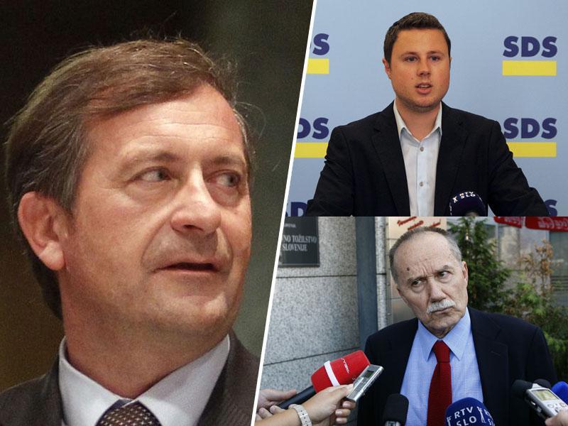 Zmešnjava na KNOVS-u: nekdo laže, a kdo - sodnik Jernej Sekolec ali Matej Tonin in Žan Mahnič?