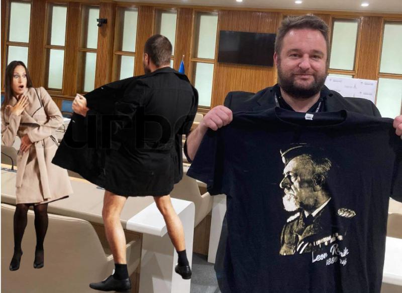Aleš Ernecl lahko izdajalca Rupnika kaže samo skrivoma in občasno, antifašisti pa simbole zmage javno in kadarkoli