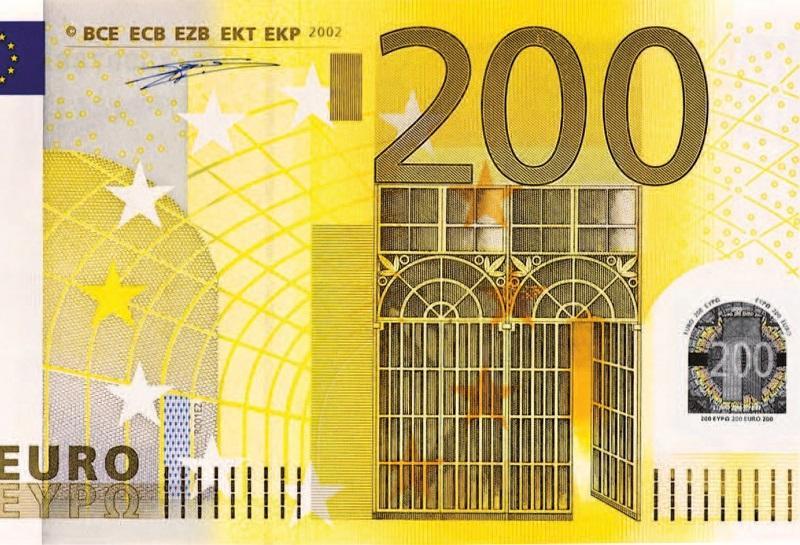 ECB bo maja v obtok poslala nova bankovca za 100 in 200 evrov