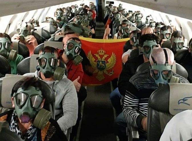 Montenegro Airlines: S plinskimi maskami nekdanje JLA rešili problem – in ogrozili varnost evakuiranih potnikov