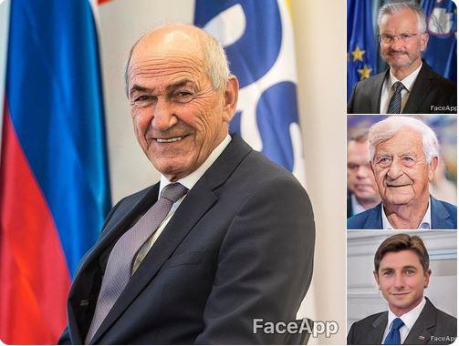 »Mal sem testiral faceapp aplikacijo. Edino pri Pahorju je neki zaštekalo.« Kako pa je videti znana TV-voditeljica?
