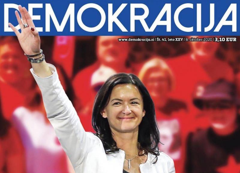 Firerka? »Po katerih parametrih pa naj bi bila Tanja Fajon nacist? Ker ima roke?«