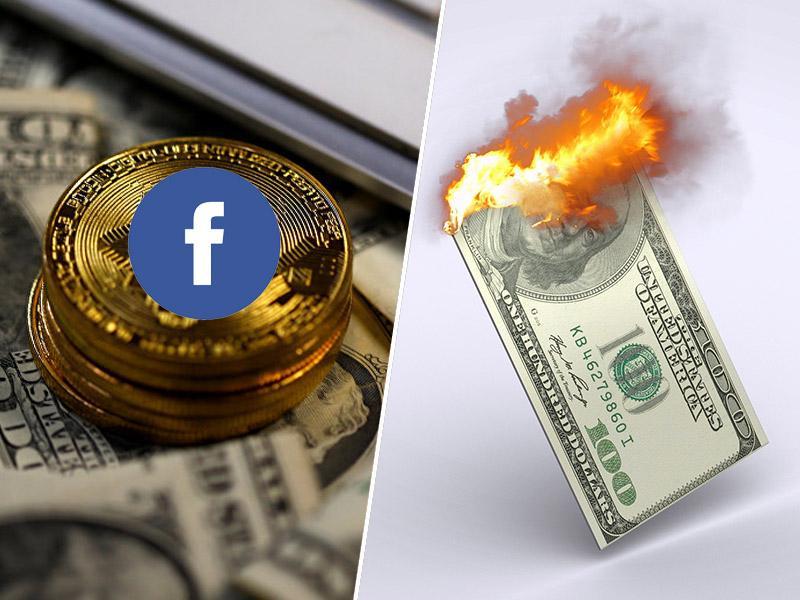 Dolar pospešeno izgublja veljavo - bi Facebookova kriptovaluta lahko zamenjala ameriški dolar?