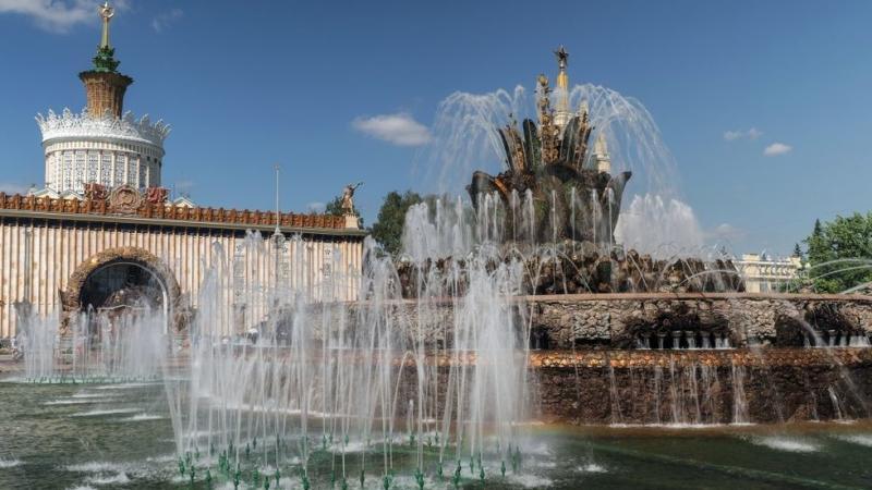 Saj ni res, pa je: v Moskvi so gasili - fontano