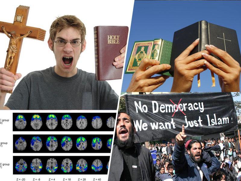 Odkritje: poškodbe možganov so lahko temelj verskega fanatizma
