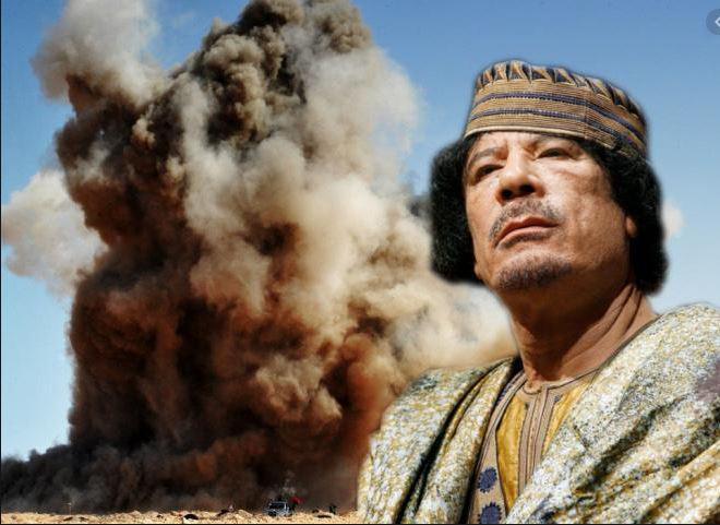 Tajna pogajanja, ki bi Gadafiju rešila življenje, a sta jih državi sabotirali: Kako so v hotelski sobi zapečatili usodo Libije