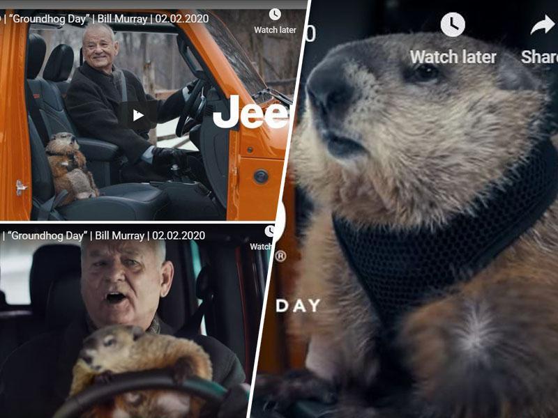 Legendarna komedija »Groundhog day«: Svizčev dan 27 let pozneje