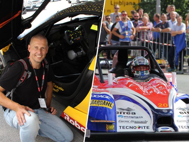 GHD Ilirska Bistrica 2018: Avtomobilska dirka z veliko začetnico