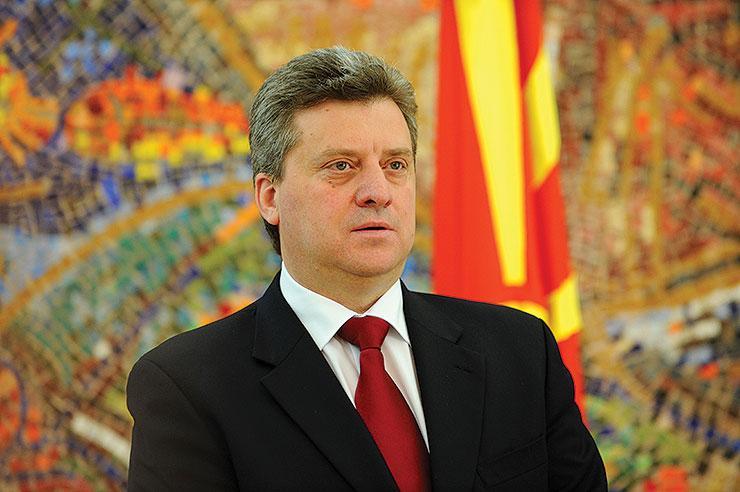 Makedonski predsednik ne bo podpisal zakona o albanščini kot drugem uradnem jeziku