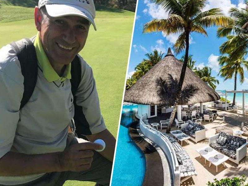 SDS »proti« korupciji, Janša pa na Mauritiusu z dobičkarji iz zdravstva redno igra golf